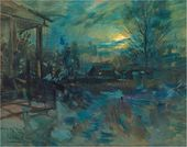 Konstantin KOROVIN. 'I Was Riding to See You...'. 1921