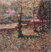 Ernst LAWSON. Connecticut Landscape. c.1902-04