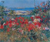 Childe HASSAM. Celia Thaxfer's Garden, Isles of Shoals, Maine. 1890