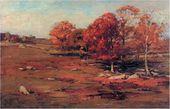 Henry С. WHITE. Fall Landscape. 1891