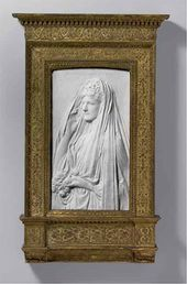Mrs. Stanford White (Bessie Springs Smith). 1884, this carving, by 1888