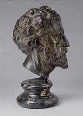 John FLANAGAN. Augustus Saint-Gaudens. 1905-1924, this cast, 1924