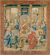 The Last Supper. Tapestry, ca. 1520-1530