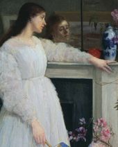 Symphony in White, No. 2: The Little White Girl. 1864
