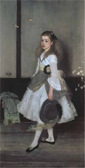 Harmony in Grey and Green: Miss Cicely Alexander. 1872-1873