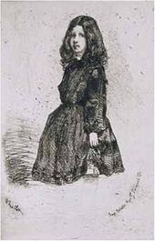 Annie, Image from the French Set. 1857-1858