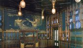 Harmony in Blue and Gold. The Peacock Room. 1876-1877