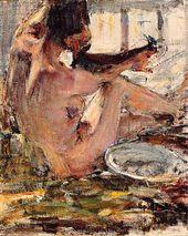 Nude. Sketch. 1914