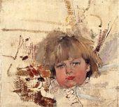 <strong>Portrait of Misha Bardukov.</strong> 1914