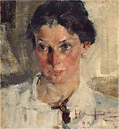 Portrait of Natalia Krotova. 1923
