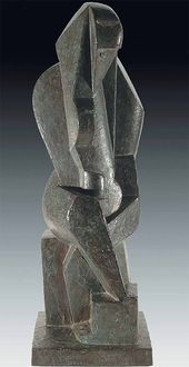 Jacques LIPCHITZ. Seated Bather. С. 1916