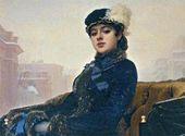 Ivan KRAMSKOY. An Unknown Lady. 1883
