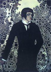 Vsevolod MAKSYMOVYCH. Self-portrait. 1913