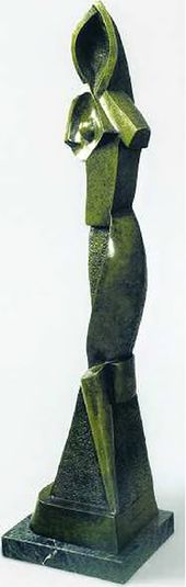 Alexander ARCHIPENKO. Female Figure. 1914