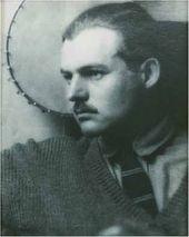 Ernest Hemingway with Banjo. 1923