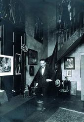 Self-portrait in His Studio at 31 bis Rue Camp ague Premiere, Paris, c. 1925