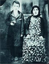 Gorky and his mother Van city, Turkish Armenia. 1912