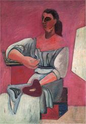 Woman with Palette. 1927