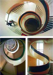 Staircase. Chekist Housing Scheme