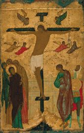 DIONISIY. Crucifixion. Moscow. 1500