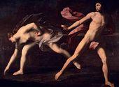 Guido RENI (1575–1642). Atalanta and Hippomenes. c.1615-20