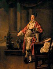 Dmitry LEVITSKY. (1735–1822) Portrait of Prokopy Demidov. 1773