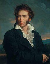 François-Xavier Fabre (1766–1837). Portrat of Ugo Foscolo. 1813