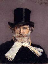 Giovanni BOLDINI (1842–1931). Portrait of Giuseppe Verdi. 1886