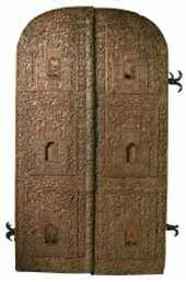 The Royal Doors. 17th century, Ryazan