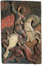 St. George and the Dragon. Late 16th – early 17th centuries