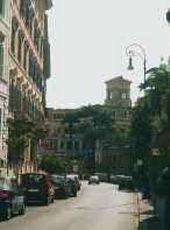Rome. Villa Malta. Modern view