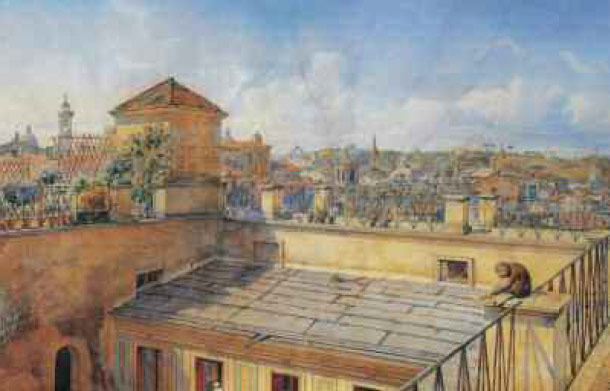 German And Russian Artists Rendezvous In Rome The