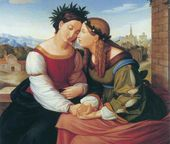Johann Friedrich OVERBECK. Italy and Germany. 1828