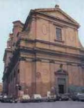 Rome. Church of St Andrea delle Fratte where Orest Kiprensky is buried