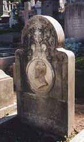 Rome. Testaccio. Tomb on Vasily Shterenberg' grave