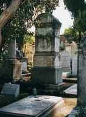 Rome. Testaccio. Tomb on Karl Brullov's grave by architect Мikhail Shurupov. 23 June 1852