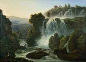 Waterfalls Near Rome. 1806
