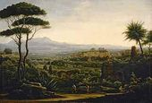 A View in the Environs of Tivoli. 1819