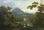 Waterfalls. Sicily. 1814