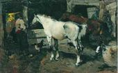 Race Horses. 1946
