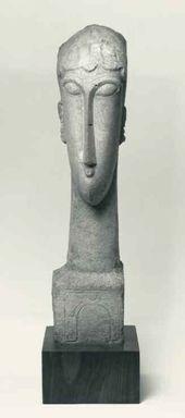 Woman's Head. 1912