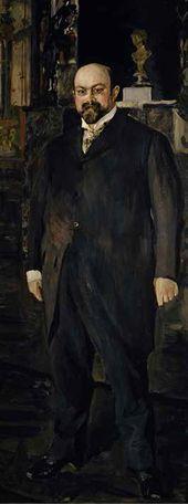 Portrait of Mikhail Morozov. 1902