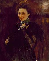 Portrait of Mara Oliv. 1895