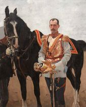 Portrait of Grand Duke Paul Alexandrovich. 1897.