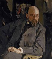 Portrait of Ilya Ostroukhov. 1902.