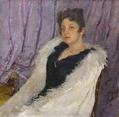 Portrait of Zinaida Moritz. 1892.