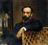 Portrait of Isaak Levitan. 1893.
