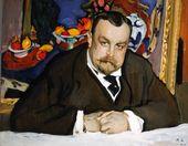 Portrait of Ivan Morozov. 1910.