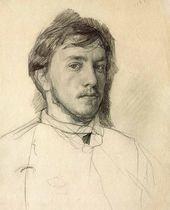 Self-portrait. 1885