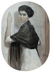 Portrait of Sofia Olsufieva. 1911.
